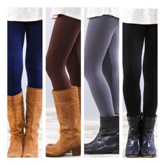 • Solid Fleece Leggings • Solid color fleece leggings. Super soft and very stretchy! Looks like a regular sleek legging on the outside, but inside is warm fleece for those cold days. Great with tunics and long sweaters. One Size Fits Most  Your choice of colors: NAVY, BROWN, GREY, BLACK 65% polyester, 20% cotton, 15% spandex.   •no trades •10% off all bundles  PLEASE DO NOT purchase this listing. Comment your size & color below and I'll make a listing for you. Jennifer's Chic Boutique…