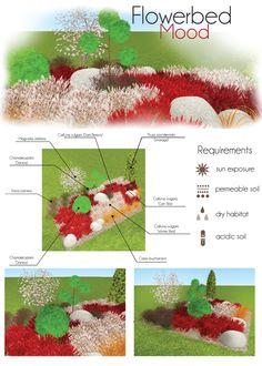 Flowerbed: Moor. Make your own project of flowerbed with MyGreenSpace http://mygreenspace.pl/en