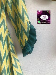 Best 12 Fancy hand – Page 508132770456584226 – SkillOfKing. Kurti Sleeves Design, Sleeves Designs For Dresses, Neck Designs For Suits, Kurta Neck Design, Blouse Neck Designs, Sleeve Designs, Dress Designs, Churidar Neck Designs, Kurta Designs Women