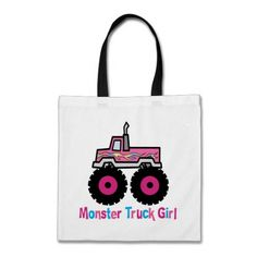 Monster Truck Bag  Click on photo to purchase. Check out all current coupon offers and save! http://www.zazzle.com/coupons?rf=238785193994622463&tc=pin