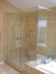 Shower & Tub Combo - what if I turned the bathtub long-ways, and access it through the shower?