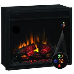 "18"" electric fireplace insert Classic Flame Twinstar plug in"