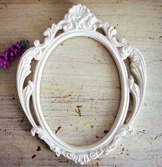 Espelho Ou Moldura Provençal Oval - R$ 110,00 no MercadoLivre