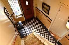 zwart wit geblokte vloer  Beethovenlaan 45 3533 ES Utrecht  | monique van waes mozaiek.com