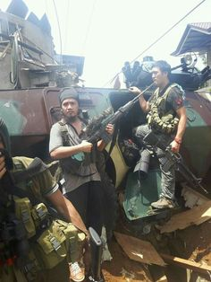 More photos from Marawi today by IS Lanao.