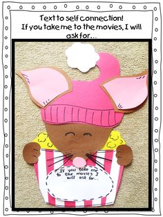 First Grade Wow: If You Take A Mouse To The Movies week long unit!
