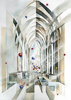 A(maze)ing (watercolour by Jan Smit)