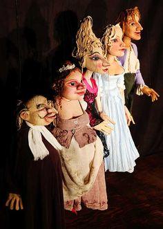 Der eingebildete Kranke - Ambrella Figurentheater & Figurenbau