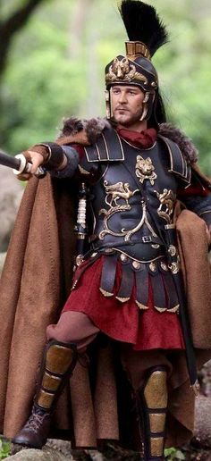 Roman Praetorian Guard soldier.