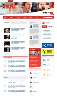 Lots of tabbed content on this intranet for DS Smith Web Design Inspiration, Design Trends, Design Ideas, Sharepoint Intranet, Intranet Design, Dashboard Design, Interaction Design, Dashboards, Site Design
