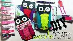 DIY  OWL Washi tape board  Dear Agenda Washi Tape, Owl, Board, Owls, Planks