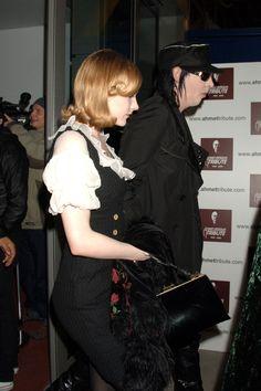 Evan Rachel Wood & Marilyn Manson