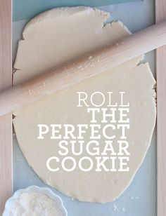 How to Roll the Perfect Cut Out Sugar Cookies ~ This Sugar Cookie Recipe cuts out perfectly so that you can ensure those gingerbread men don't lose their arms this holiday season... The dough is made with powdered sugar, which makes it super soft and It's has a hint of almond, and is just all-around addicting.