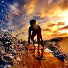 This feeling is so cool once you get there. The water around the picture is so cool I love it.