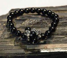 Onix Swarovski kristaly karkoto Swarovski, Bracelets, Jewelry, Jewlery, Jewerly, Schmuck, Jewels, Jewelery, Bracelet