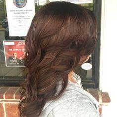 Chocolate Chestnut Hair Color