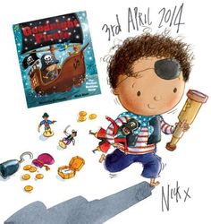 Look what the lovely Nick East made. Yo ho ho! @PuffinBooks pic.twitter.com/CjAwg5ePvY