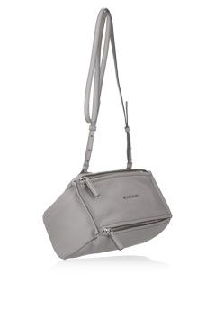 37dbad4ee6 Givenchy - Mini Pandora bag in gray textured-leather