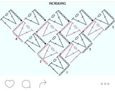 Image result for triangle diagonal crochet patterns
