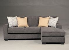 $719 - Ashley - Hodan Marble Sofa with Chaise good fabric good color option...