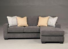$719 - Ashley - Hodan Marble Sofa with Chaise good fabric good color option...