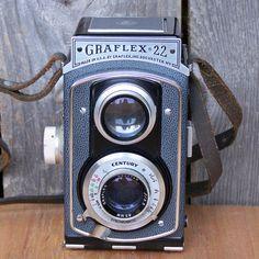 Vintage Graflex 22 Camera Model 200 by GoodPhamilyFun on Etsy, $145.00