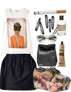 """""""I can boogie."""" by dreamonstyles ❤ liked on Polyvore"""