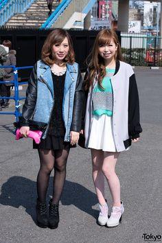 Tokyo Girls Collection Street Snaps 2013 S/S - 100 Pictures Asian Street Style, Tokyo Street Style, Street Style Trends, Street Style Women, Street Snap Fashion, Japanese Street Fashion, Asian Fashion, Ulzzang Fashion, Harajuku Fashion