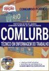 Concurso COMLURB  TÉCNICO EM ENFERMAGEM DO TRABALHO