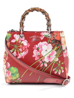 gucci bags at nordstrom. gucci gucci shangai st.blooms bamboo shopper. #gucci #bags #leather bags at nordstrom