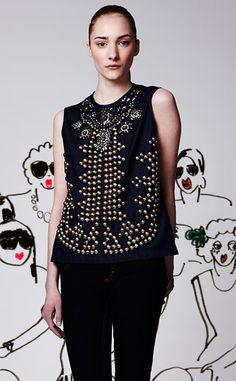 Lanvin+Acne blouse