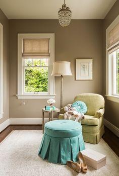 House of Turquoise: Nifelle Design Fine Interiors                                Bettina Pendant | Melrose Floor Lamp | Currey & Company