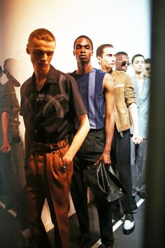 Lanvin SS16. Photo by Schohaja.  art fashion design style mensfashion campaign runway luxury menswear streetstyle mensstyle