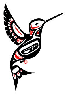 Native Art practice - Hummingbird by Girl-Money23.deviantart.com on @deviantART