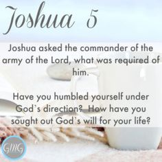 Discussion Questions Joshua 5