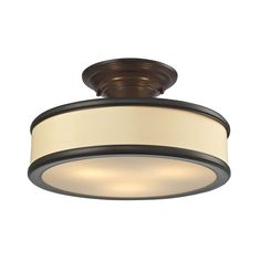 ELK Lighting 31529/3 Clarkton Collection Oil Rubbed Bronze Finish