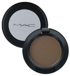 MAC Charcoal Brown: Favorite for for lightly filling in the ends and any sparse areas in my brows :)