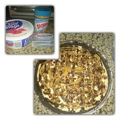 Reeses No Bake cheesecake