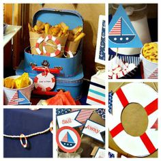 Hostess with the Mostess® - Sail Away Nautical Party