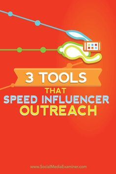 Are you trying to connect with influencers?  You can make your influencer outreach more efficient and save yourself time by combining three free tools.  In this article youll discover how to automate your influencer outreach with BuzzSumo, Buffer, and Tw