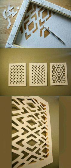 24 Gorgeous DIYs For Your Teenage Girl\'s Bedroom   Diy wall art, Diy ...