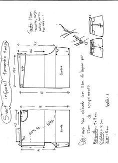 Схемы моделирования:детские шорты.. Обсуждение на LiveInternet - Российский Сервис Онлайн-Дневников
