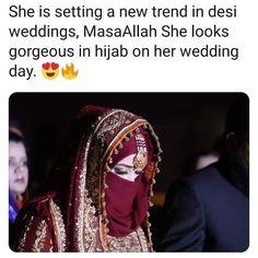 Hijabi Wedding, Wedding Hijab Styles, Fancy Dress Design, Stylish Dress Designs, Hijab Style Tutorial, Beautiful Pakistani Dresses, Muslim Women Fashion, Love Husband Quotes, Casual Hijab Outfit