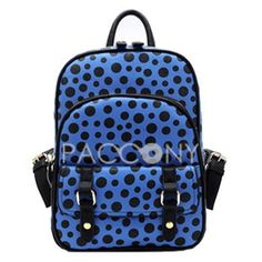 BBAO - Fashion Dot Pattern Backpacks with Large Capacity