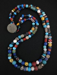 (I buy and sell antique trade beads - p.mc.n.) Lewis Clark Columbia River Trade Beads
