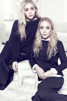 mary-kate and ashley olsen for net-a-porter's the edit 2013