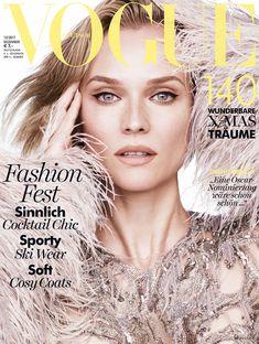 Diane Kruger, Vogue Magazine [Germany] (December 2017)