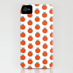 Red appels iPhone Case by Anna Berger - $35.00