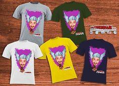 Personalizza la tua T-Shirt con la tua Caricatura
