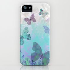 Butterfly iPhone Case by Maureen Mitchell - $35.00